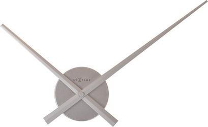 Zegar ścienny small hands srebrny