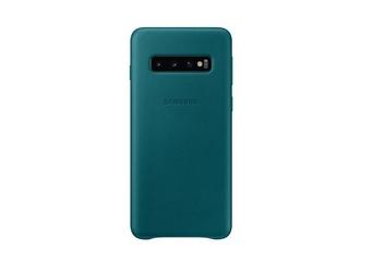 Samsung etui leather cover galaxy s10 zielony