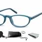 Okulary oprawki zerówki na korekcję wąskie szybkie sunoptic cp131b