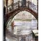Canal Bridge - obraz na płótnie