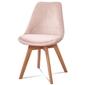 Nowoczesne tapicerowane krzesło valentino