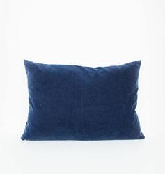 Urban Nature Culture :: UNC poduszka vintage Velvet Graystone granatowa