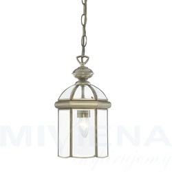 Lanterns lampa wisząca 18 antyczny mosiądz