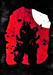 Moonlight Caverns - Dragon Ball - plakat Wymiar do wyboru: 21x29,7 cm