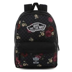 Plecak do szkoły vans realm botanical check - vn0a3ui6uwx - custom elephant