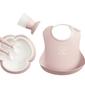 Babybjorn - zestaw obiadowy, prezentowy - powder pink