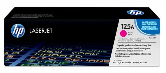 HP Toner CLJ CP1215 1.4k CB543A PURPUROWY