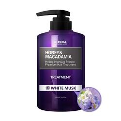 Kundal odżywka do włosów -  białe piżmo honeymacadamia treatment white musk 500ml
