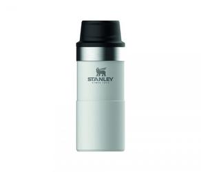 Kubek termiczny stanley 350 ml trigger action travel mug biały