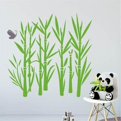 Szablon malarski bambus 1046