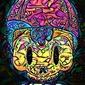 Psychoskulls, ness, earthbound - plakat wymiar do wyboru: 61x91,5 cm