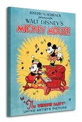 Mickey mouse the whoopee party - obraz na płótnie