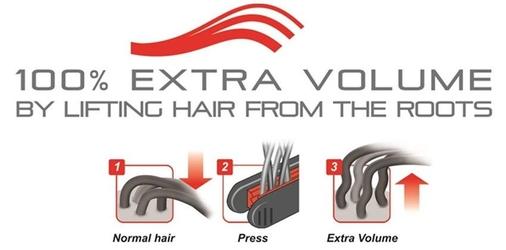 Valera volumissima 10mm urządzenie zwiększające objętość włosów 230c
