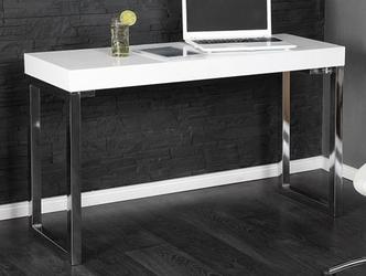 Nowoczesne białe biurko white desk 120 cm