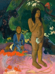 Words of the devil, paul gauguin - plakat wymiar do wyboru: 60x80 cm