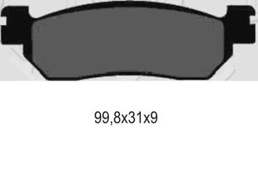 Galfer klocki hamulcowe kh275 fd214g1371