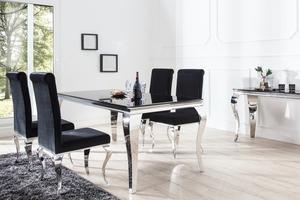 Stół kuchenny modern barock 200cm czarny