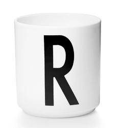 Kubek porcelanowy AJ litera R
