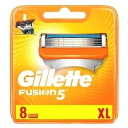 Gillette fusion 5 noże wkłady do maszynki 8 szt.
