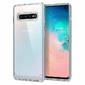 Etui Spigen Ultra Hybrid do Samsung Galaxy S10 Crystal Clear +Folia Neo Flex - Przezroczysty