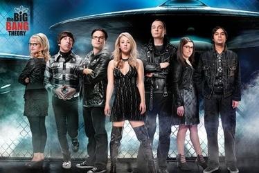 The big bang theory ufo - plakat