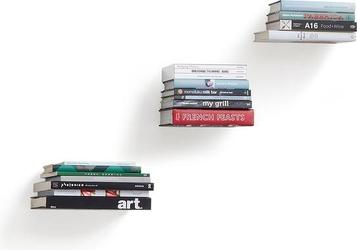 Półka na książki conceal 3 szt. duża