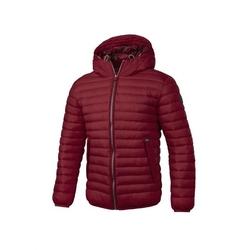 Kurtka zimowa pit bull west coast light padded hodded jacket tremont burgundy - burgundy