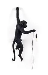 Lampa Monkey czarna kinkiet