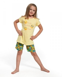 Piżama dziewczęca cornette kids girl 78758 smile krr