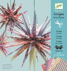 Kirigami papierowe gwiazdy