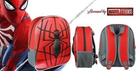 Plecak spiderman plecaczek 3d new