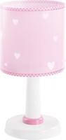 Lampka nocna sweet dreams pink serduszka stojąca na szafkę