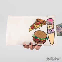 Kosmetyczka extreem - junk food makeup bag