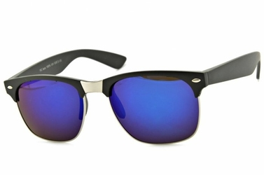 Półramki okulary przeciwsłoneczne lustrzane  2844