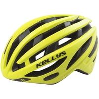Kask rowerowy kellys spurt, kolor żółty, rozmiar sm