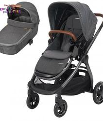 Wózek Maxi Cosi Adorra +  Oria + Fotelik Maxi Cosi ROCK i-Size + Baza 3WayFix