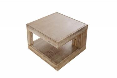 INTERIOR SPACE :: Stolik kawowy NATURALS 45x45cm - akacja - 40