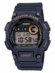 Męski zegarek CASIO W-735H 2AV zd081c - Super Illuminator