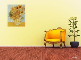 słoneczniki vincent van gogh ; obraz - reprodukcja