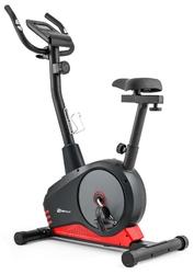Rower magnetyczny hs-2080 spark model 2019 czarno-czerwony - hop sport - czarno-czerwony