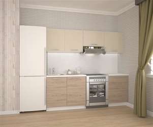 Zestaw mebli kuchennych tress 220 cm
