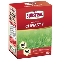 Nawóz do trawnika 100 dni – zwalczający chwasty – 1 kg substral