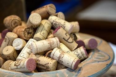 Fototapeta zbiór korków po winie fp 1012