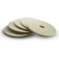 Karcher pad, miękki, beżowy  naturalny, 432 mm 5 sztuk