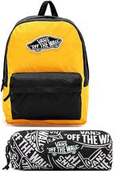 Plecak szkolny Vans Realm - VN0A3UI6TVT yellow zółty + Piórnik Vans