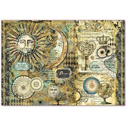 Papier ryżowy Stamperia 48x33 cm Alchemia