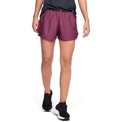 Spodenki krótkie damskie under armour play up 2.0 shorts - bordowy