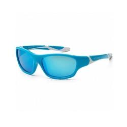 Okulary przeciwsłoneczne koolsun sport aqua white 6-12 lat