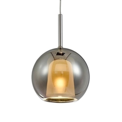 Lampa wisząca euforia no. 1 25cm chrom - chrom