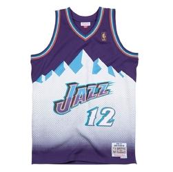Koszulka mitchell  ness nba utah jazz road 1996-97 john stockton